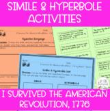 I Survived the American Revolution, 1776 Figurative Langua