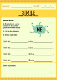 Simile Introductory Worksheet - Lesson 1