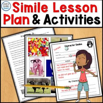 Simile Figurative Language Lesson Plan and More