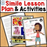 Simile Figurative Language Lesson Plan and More