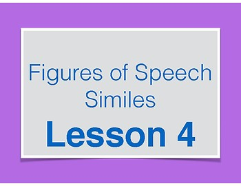 Simile Lessons - Figures of Speech