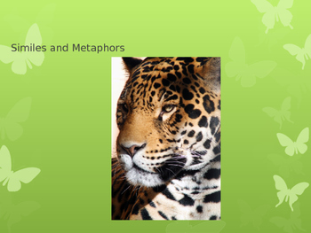 Simile & Metaphor PowerPoint