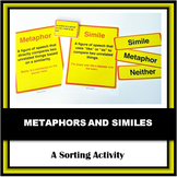 Simile & Metaphor Sort - A Berry Confused Vampire