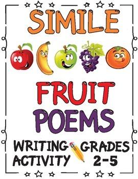Simile Poem Writing Activity Grades 2-5