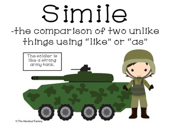 Simile Poster and Booklet