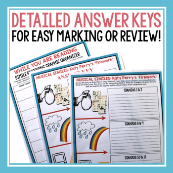 SIMILE ACTIVITIES, ASSIGNMENTS, TASK CARDS & MORE!