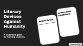Simile Review Game: Literary Devices Against Humanity