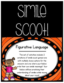Simile Scoot - Figurative Language Game