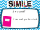 "Simile ""Show"" not ""Tell"" small group Mini-lesson"
