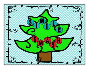 Simile Smash Christmas Card Game