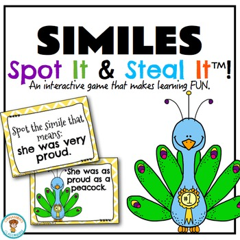 Simile Spot It & Steal It Game