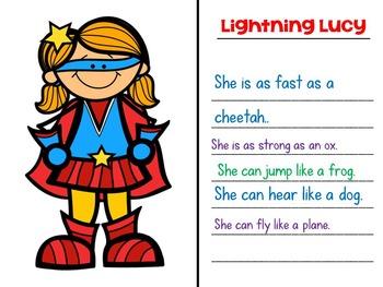 Simile Superheroes: Figurative Language Fun