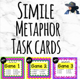 Simile & Metaphor Task Cards