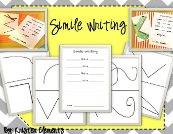 Simile Writing {Be Creative with lines}