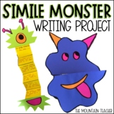 Simile Writing Worksheets and Monster Craft