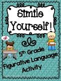 Simile Yourself - Figurative Language Activity