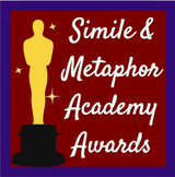Simile and Metaphor Academy Awards Activity Sheet