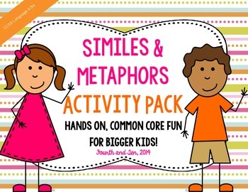 Similes and Metaphors Activity Pack