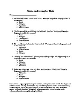 Englishlinx.com | Similes Worksheets