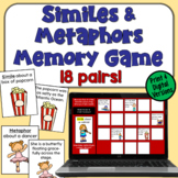Simile and Metaphor Concentration Game