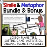 Simile and Metaphor Figurative Language Bundle