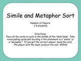 Simile and Metaphor Game
