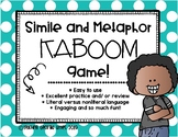 Figurative Language: Simile and Metaphor KABOOM [Interactive Game]