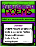 Simile and Metaphor Poetry Set {Students write Poems}