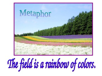 Simile and Metaphor Powerpoint Presentation (Figurative Language)
