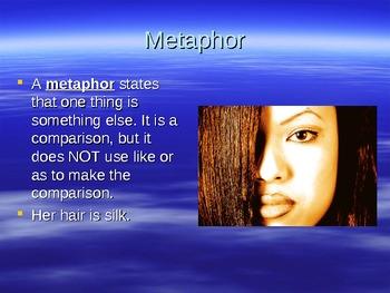 Simile and Metaphor Powerpoint Presentation Lesson (Figurative Language)