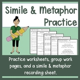 Simile and Metaphor Worksheets