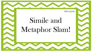 Simile and Metaphor Slam
