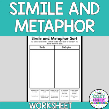 Simile and Metaphor Sort