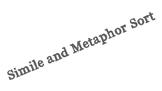 Simile and Metaphor Sort