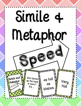 Simile and Metaphor Speed