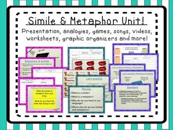 Simile and Metaphor Unit