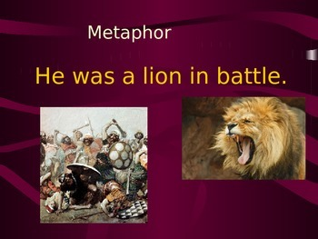 Simile or metaphor with student engagement