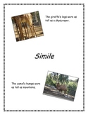 Figurative Language Simile Resources