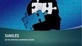 Similes. A Distance Learning Lesson