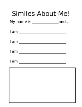 Similes About Me