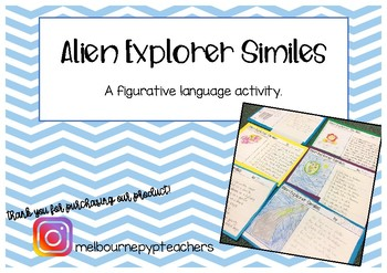 Similes Activity: Alien Explorer