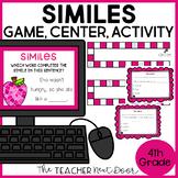 Similes Game | Similes Center | Similes Activity | Figurative Language: Similes