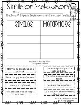 Similes & Metaphors