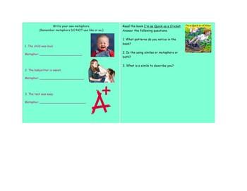 Similes & Metaphors SMART NOTEBOOK Activities