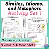 Similes, Metaphors, and Idioms Sort Plus Printable and Dig