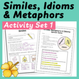 Similes, Metaphors, and Idioms Sort and Worksheet