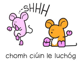 Similes Posters as Gaeilge