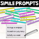 Similes PowerPoint and Task Card BUNDLE