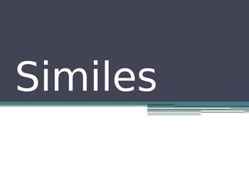 Similes Powerpoint