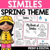 Similes - Figurative Language Writing Activities